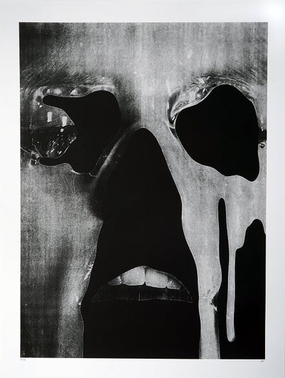 "Jesse Draxler - ""untitled, 2016"" - 1 Color Screenprint - Edition of 13 - Misc. Press"