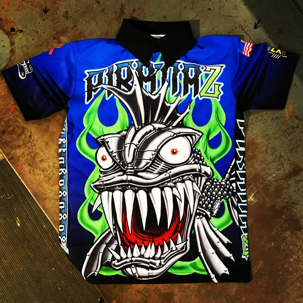 Image of 2016 PIRANAZ RACING CREW SHIRT