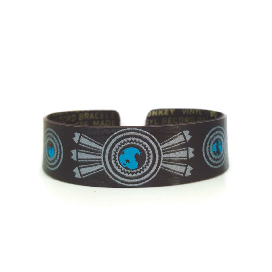 Image of Light Turquoise and Silver Bracelet