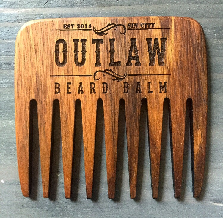 Image of  HANDMADE BEARD RAKES