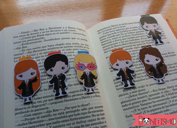 Image of Magnetic Bookmarks - Harry Potter I