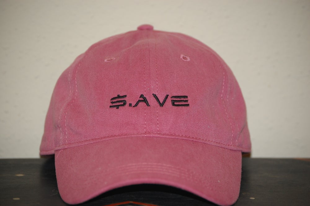 Image of Dark Pink $.AVE Hat