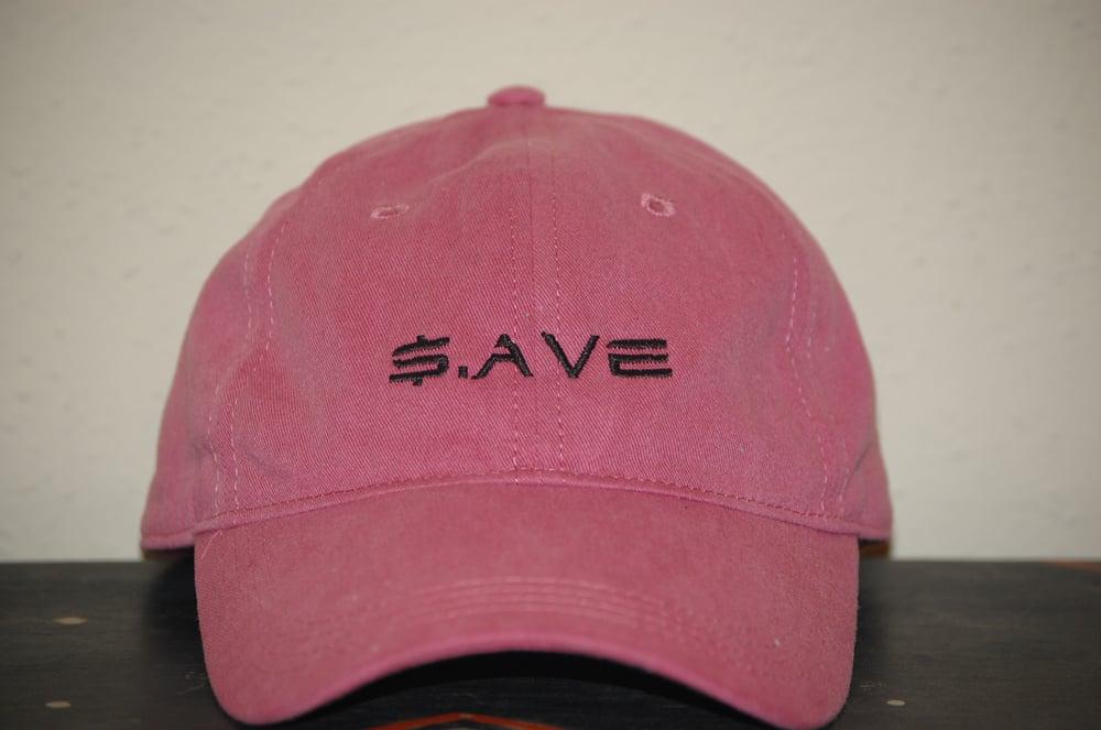 Image of Dark Pink $.AVE Hat