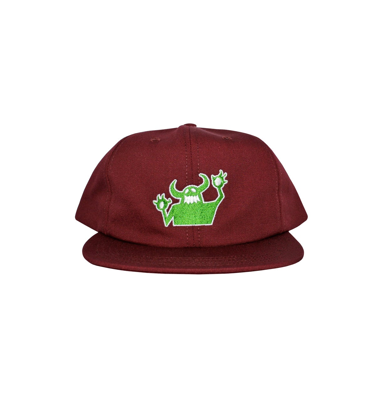 Image of TOY MACHINE_OG MONSTER REISSUE HAT :::MAROON:::