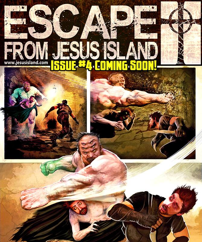 Image of Escape From Jesus Island #4