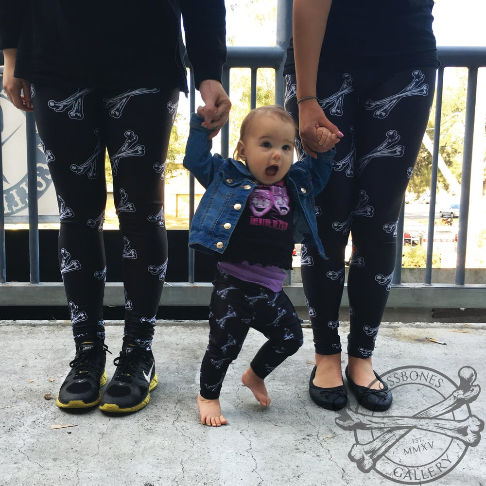 Image of CBG Bones Leggings
