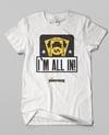 Pinkingz Bowling T-Shirt - Im All In - Bowling Pots, Bowling Love Doubles, Bowling Brackets