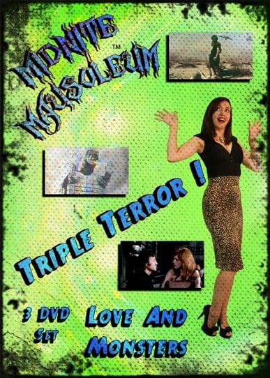"Image of Midnite Mausoleum Triple Terror 2015 ""Love & Monsters"" DVD"