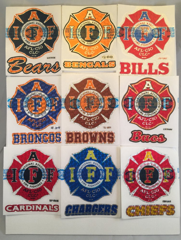 "Image of NFL - 4"" IAFF Maltese Premium Decal"