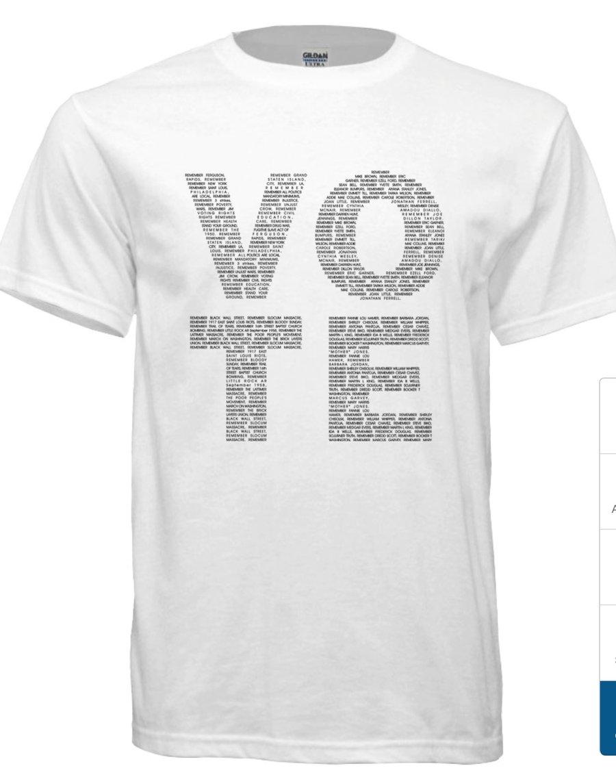 Image of VOTE MEN'S TSHIRT WHITE W/BLACK LETTERS