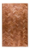 Image of 676685001658 Leather Stitch Hide - Parquet Tan