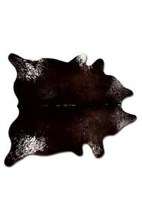Image of 676685001252 Natural- Kobe Cowhide Rug Salt&Pepper Chocolate