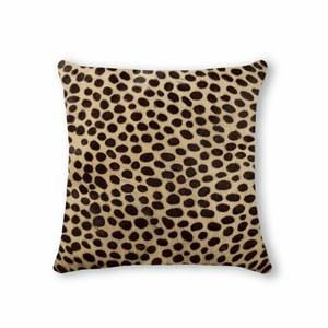 Image of 676685000248 Natural- Torino Cowhide Pillow 18x18 Cheetah