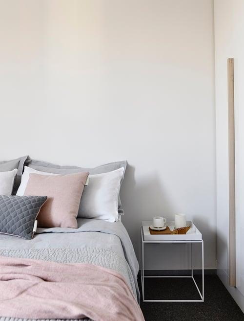 Image of - SALE - LAST ONE! Kumo Cushion Cover - Pink/Grey Lumbar
