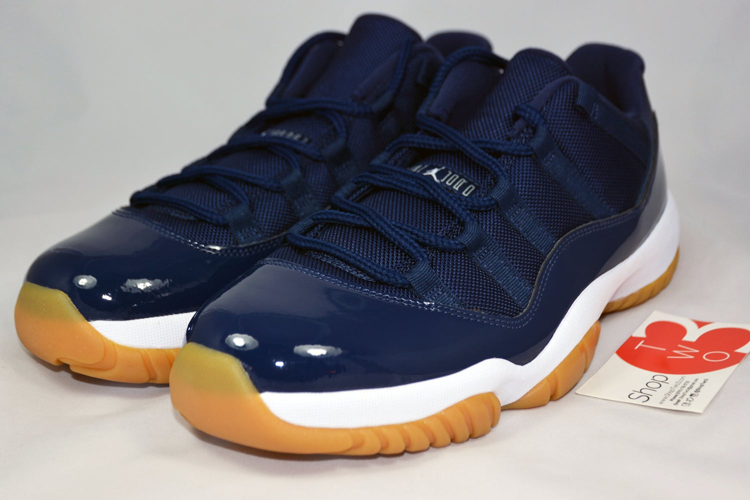 "Image of Air Jordan Retro 11 Low ""Navy Gum"""