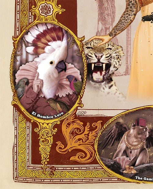 Image of Bestiary - Victorian Fair - Freak show - Print