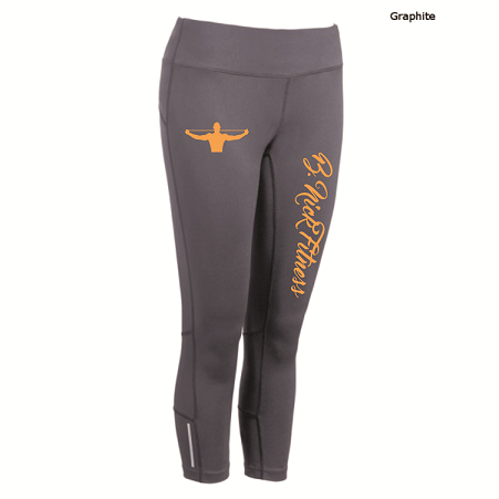 Image of B.NICK FITNESS SPRING CAPRI LEGGINGS