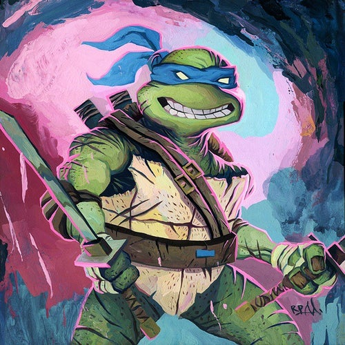 Image of TMNT 12X12 PRINT SET