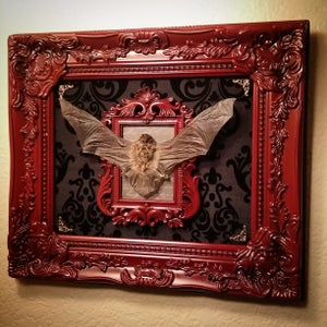 Image of 12x14 open mount bat display