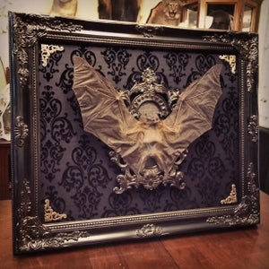 Image of 20x24 open mount bat display custom order