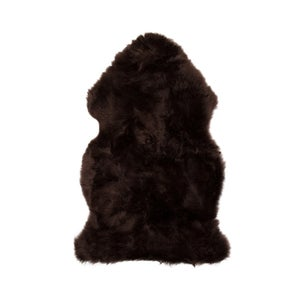 Image of 676685001696  Natural-NEW-ZEALAND-SHEEPSKIN-SINGLE-CHOCOLATE