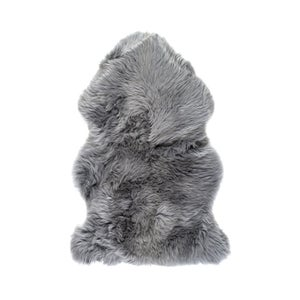 Image of 676685001702 Natural-NEW-ZEALAND-SHEEPSKIN-SINGLE-GREY