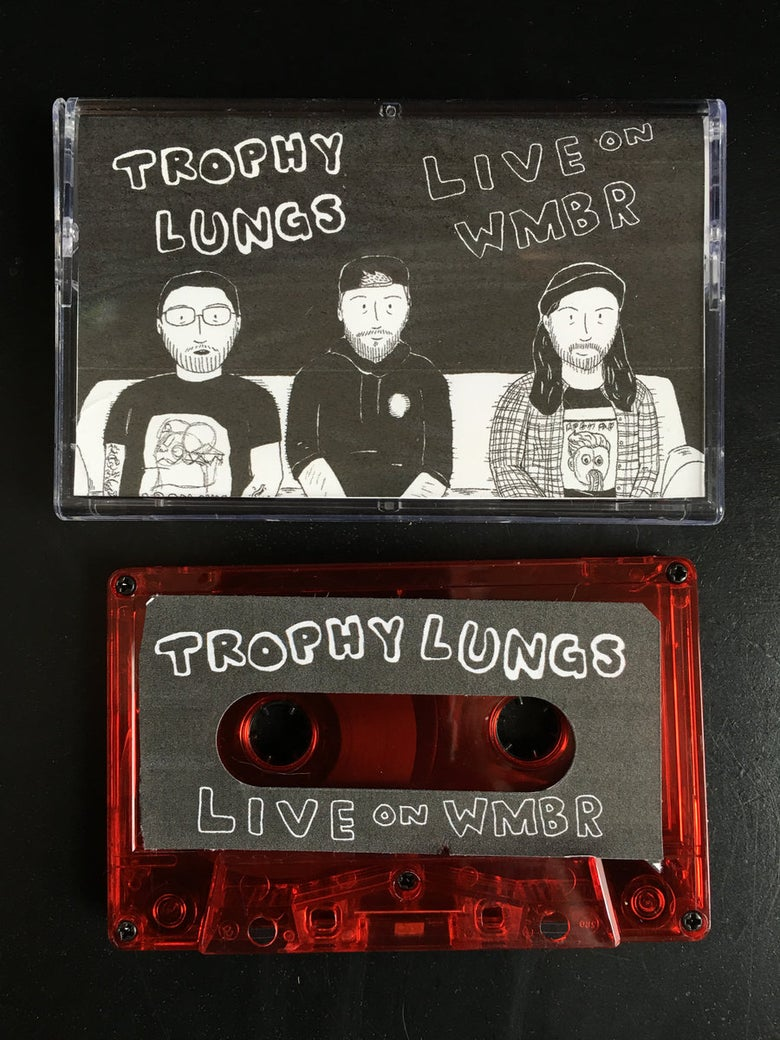 Image of Live on WMBR cassette