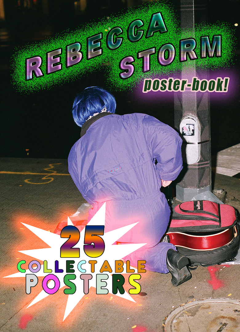 Image of Rebecca Storm Posterbook!