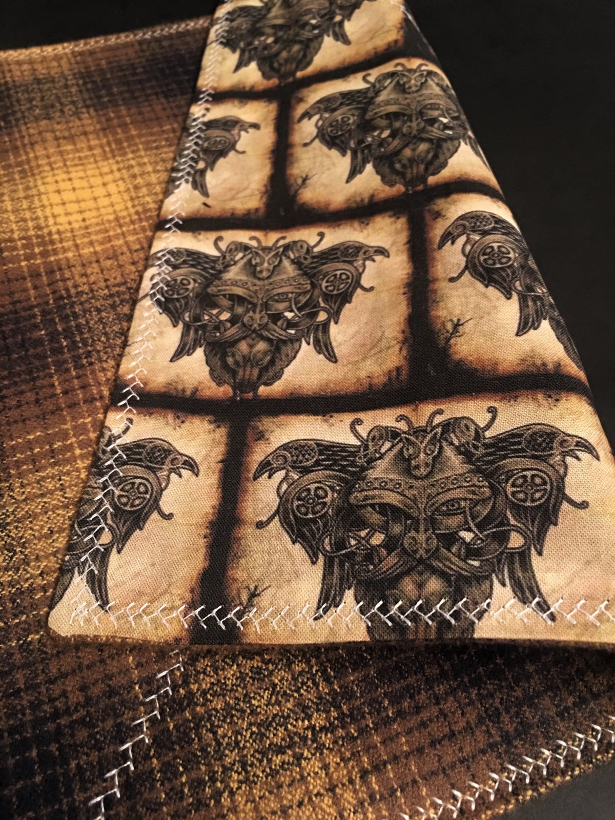 Image of Odin and Ravens Flannel