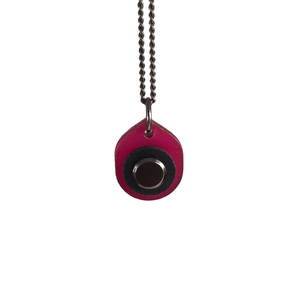 Image of Red Vinyl Pendant