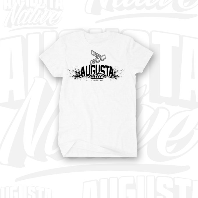 Image of Augusta Native Grind/Hustle - White/Black