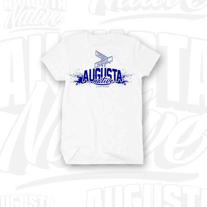 Image of Augusta Native Grind/Hustle - White/Royal