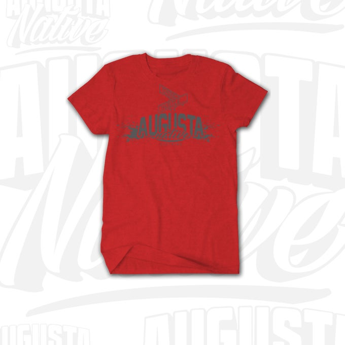 Image of Augusta Native Grind/Hustle - Red/Silver
