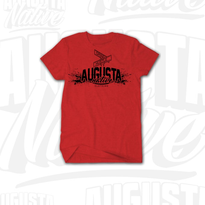 Image of Augusta Native Grind/Hustle - Red/Black