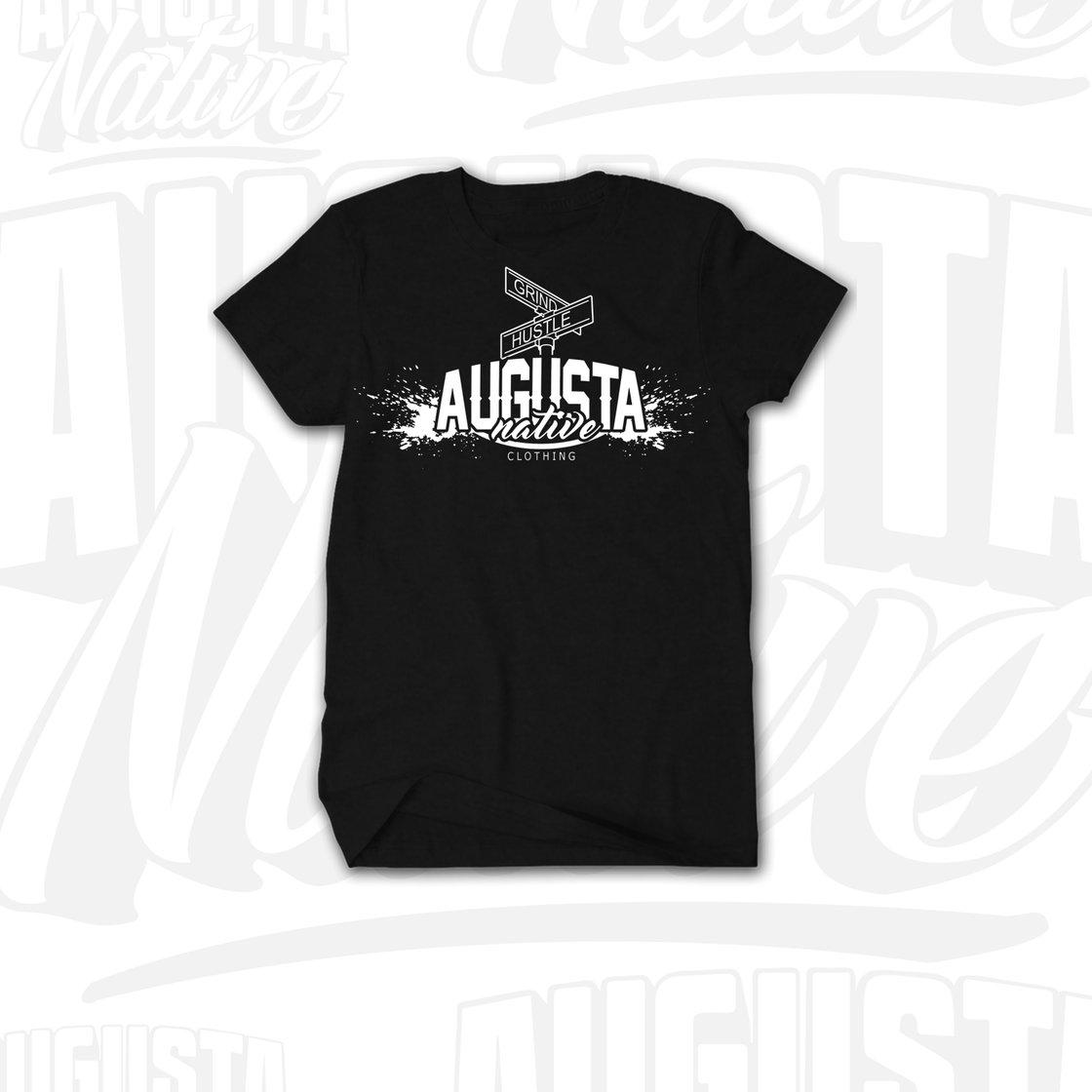 Image of Augusta Native Grind/Hustle - Black/White