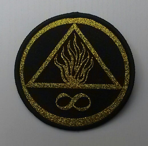 Image of We Burn Forever Logo Patch