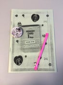 Image of Memory Card Zine 1 + Badge PREORDER