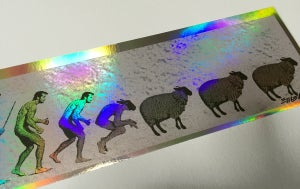 Image of Handbill Sheepie Foil by Emek