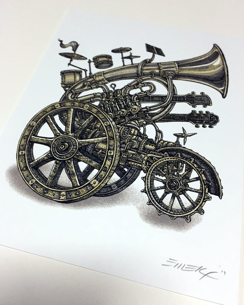 Image of Handbill Instrumental Cannon by Emek