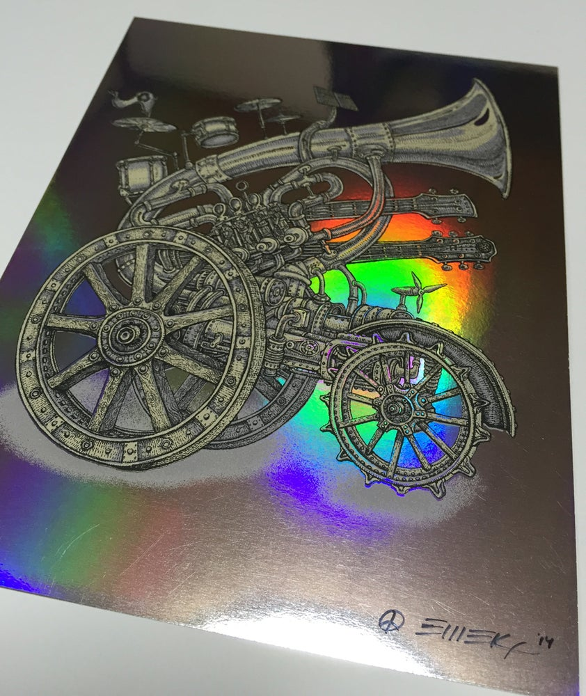 Image of Handbill Instrumental Cannon Foil by Emek