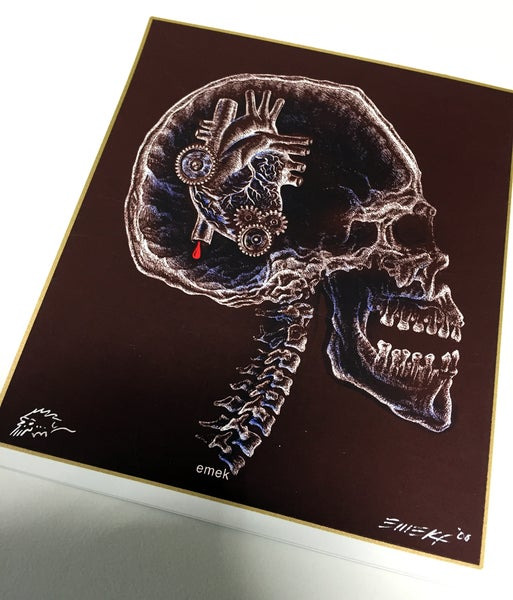 Image of Handbill X-Ray Skull by Emek