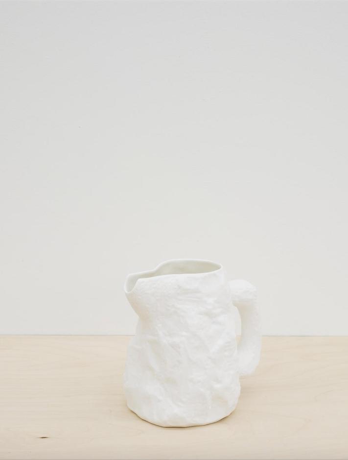 Image of Max Lamb - Crockery Jug, White