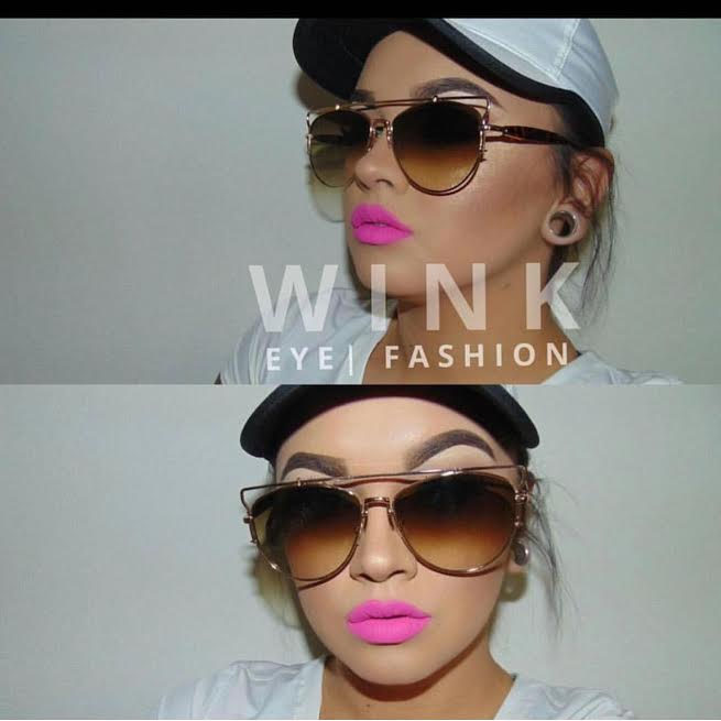 Image of RIRI BAR'd AVIATOR : KYLIE J