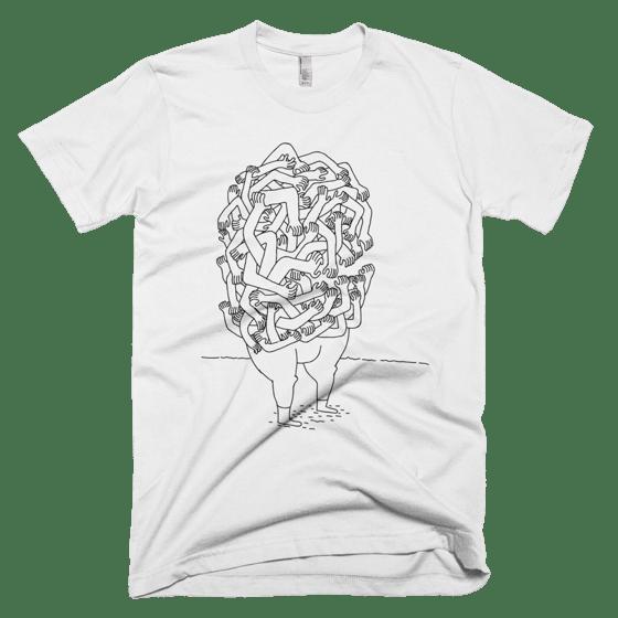 Image of hands shirt