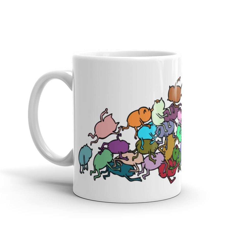 Image of monster pile mug