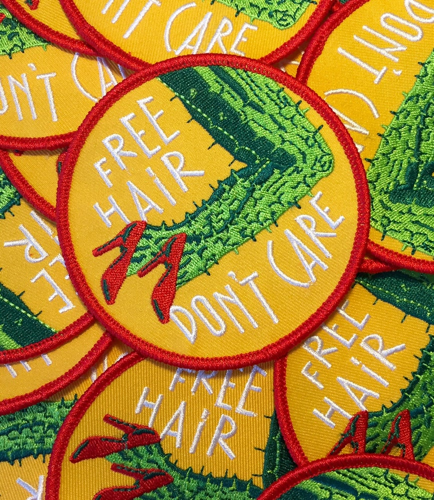 Image of Free Hair Don't Care Patch