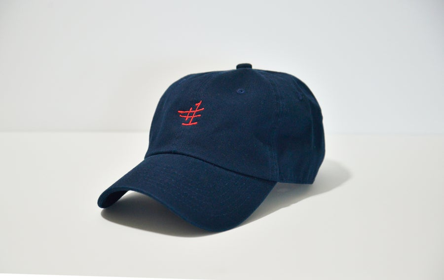 Image of NUN BETTER #1 DadHat (Navy)