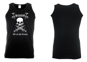 "Image of Shining ""We Are The Enemy"" Sleeveless Shirt"