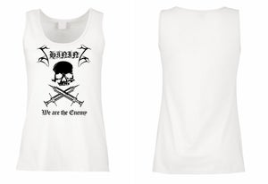 "Image of Shining ""We Are The Enemy"" Girlie Tank Top"