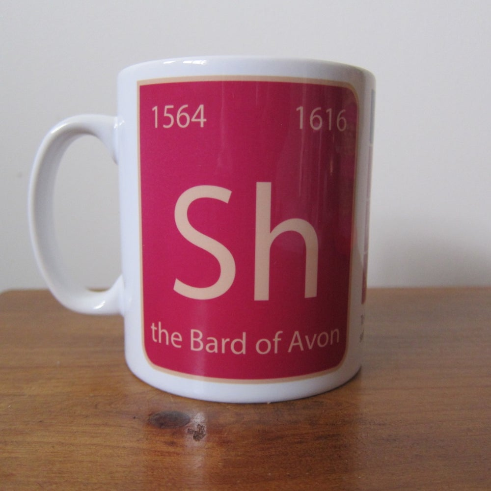 Image of New -Shakespeare Mug